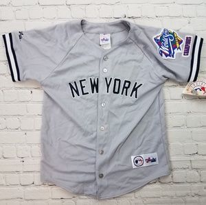 World Series Champions Yankees Baseball Jersey